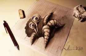 are these 3d objects with these 30 tricky drawings it u0027s hard to