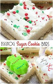 eggnog sugar cookie bars mandy u0027s recipe box