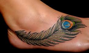 foot cross tattoo 100 fly feather tattoo that will make you courageous tattoozza