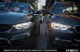 bmw m4 headlights oneighty oe s f30 led headlight upgrade for halogen u0026 xenon