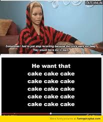 Meme Song - rihanna song lyrics meme funny pictures