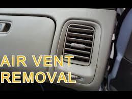 1998 2002 honda accord air vent removal youtube