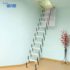 automatic attic stairs drop down u2014 new interior ideas innovative