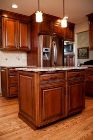 Natural Hickory Kitchen Cabinets Hickory Floors With Cherry Cabinets Floor Ideas