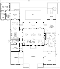 Southern Living Floorplans Palm Garden Retreat Coastal Living Southern Living House Plans