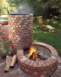 all about built in barbecue pits campfires concrete and bricks