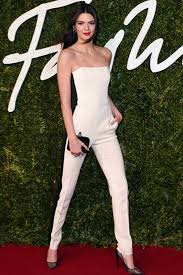 kendall jenner jumpsuit best dressed at the fashion awards 2014