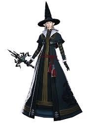 ffxiv halloween black mage render ffxiv heavensward pinterest final fantasy