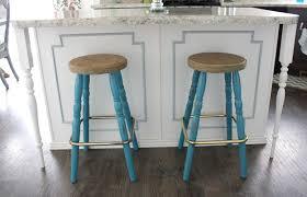 furniture rustic bar stools log bar stool bowery with brown