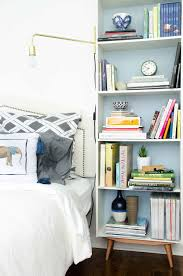 diy mid century bookcase ikea hack thou swell
