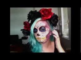 sugar skull hair and crown diy