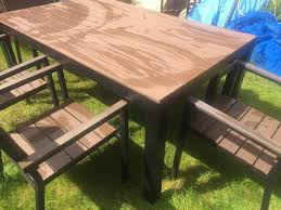 Ikea Teak Patio Furniture - ikea falster garden furniture in st albans hertfordshire gumtree