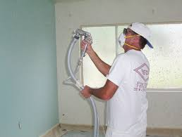 knockdown textured ceilings peck drywall and painting haammss