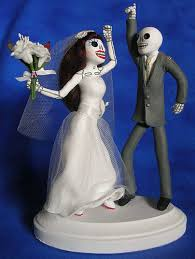 day of the dead cake toppers disco day of the dead wedding cake topper a photo on flickriver