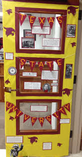 college week door decorating competition pennstate winning my