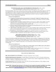 Sample Resume Manager by Telecommunications Executive Resume Sample