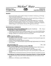 banking resume template gallery of investment banking resume