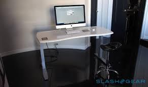 Fitbit Standing Desk Stir Kinetic Desk M1 Hands On Even Smarter Standing Slashgear