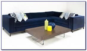 Blue Leather Sectional Sofa Contemporary Navy Blue Sectional Sofa Sofas Home Design Ideas