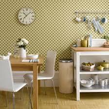 kitchen fascinating brown dotted kitchen wallpaper in beige