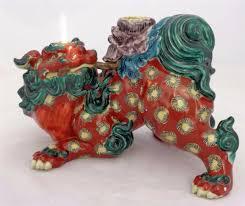 kutani shishi foo dog shishi chien de foo porcelain n 1 collection on ebay