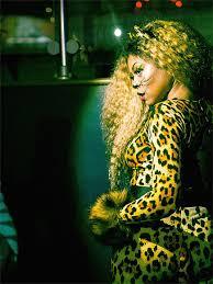 taraji p henson with her fierce cheetah halloween costume
