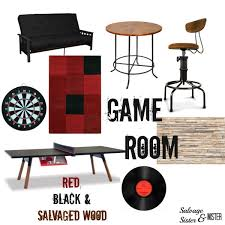 Game Room Rug Game Room Reveal Carpet Remnant Into Rug Salvage Sister And Mister