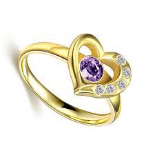 rose gold amethyst diamond ring online get cheap black gold amethyst aliexpress com alibaba group