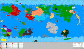 World Map Oldest by Micronational Cartography Society