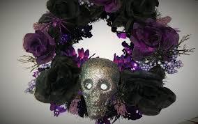 diy halloween home decor wreath youtube
