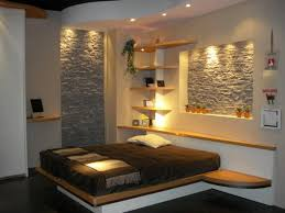 interior decors with stone walls