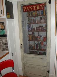 Kitchen Pantry Doors Ideas An Old Screen Door For A Farmhouse Pantry For More Home Ideas