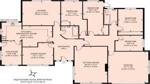 4 bed bungalow plans homepeek
