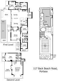 5 Level Split Floor Plans Split Level Beach Residence In Back Beach Homeadore