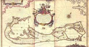 Map Of Bermuda Landowners Of Bermuda From Map C 1622
