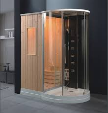 shower cabin with sauna eco de