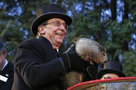phil sees shadow groundhog