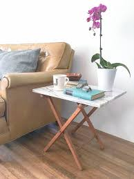 make it diy marble side table curbly