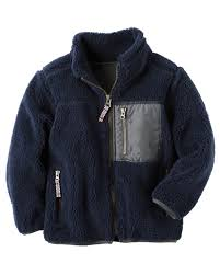 sherpa zip up jacket babies clothes boys and babies