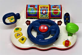 baby toys with lights and sound turn learn driver computer vtech electronic learning toy flashing