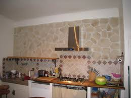 habillage hotte de cuisine habillage mur photo 1 8 plaquettes de parement hotte