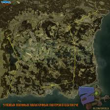 Poe Maps Map With All 9 New Military Camps 0 61 Dayz