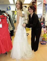 wedding dresses edinburgh brand new 1 500 designer wedding dress donated to edinburgh