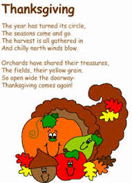 thanksgiving poem and coloring page template harvest