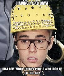 Meme Justin Bieber - justin bieber cheer up meme bajiroo com
