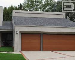 modern garage doors in custom contemporary designs and mid century