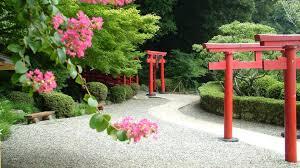 japan flowers japanese gardens hedges wallpaper 63974