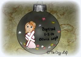 personalized baptism ornament the world s catalog of ideas