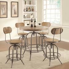 Bar Table And Stool Set Bar Units And Bar Tables Adjustable Bar Table Set With Stools