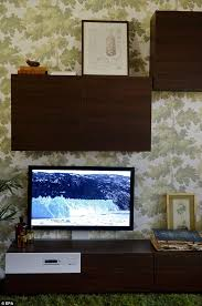 ikea to sell tv u0027s integrated into its furniture daily mail online